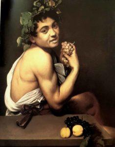 Микеланджело Меризи да Караваджо. Больной Вакх. 1593. Галерея Боргезе