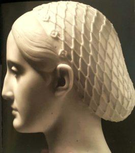 Тенерани. Портрет Марии Николаевны. Деталь. Вид в профиль