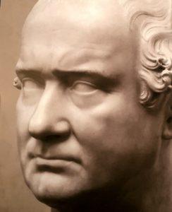 П.Роменелли. Портрет Бартолини. Галерея палаццо дельи Альберти. Пратто. Италия. Серьезный был Бартолини, нравоучительный