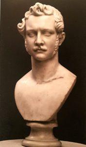 Бартолини. Анатолий Демидов. 1840. Мрамор. Галерея палаццо дельи Альберти. Пратто. Италия