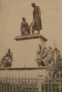 Бозио. Памятник Николаю Никитичу Демидову. Фрагмент. Нижний Тагил. 1852