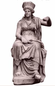 Античная статуэтка Кибелы