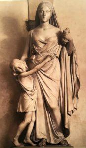 Бартолини. Материнский страх. 1846-1850. Прато. Галерея дельи Альберти. Из Генуи (из палаццо Бальби) в Прато работа попала в 1978 (была куплена)