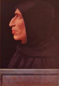 Фра Бартоломео. Савонарола. Около 1498. Национальный музей монастыря Сан-Марко. Не путать с собором Сан-Марко в Венеции
