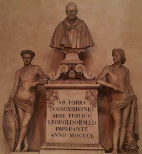 Бартолини. Памятник Витторио Фоссомброни. 1846-1850. Базилика Санта-Кроче. Флоренция