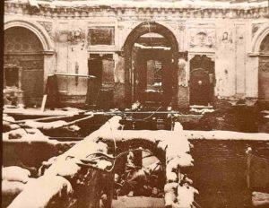 Большой дворец. Павловск. 1944