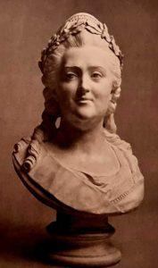 Рашетт. Бюст Екатерины II. 1793. Третьяковская галерея