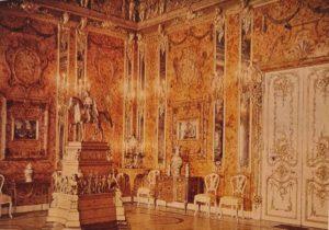 Янтарная комната. Фотография начала 20 века