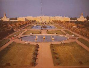 Верхний сад. Петродворец. Воссоздан в 1968 г.
