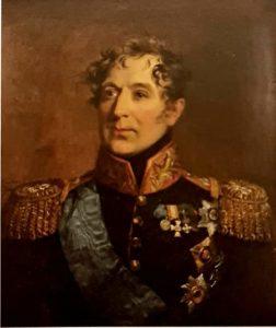 Дж.Доу. Портрет графа Михаила Андреевича Милорадовича. 1820-ые. Государственный Эрмитаж
