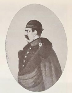 Портрет А.Якубовича. П.Каратыгин. Акварель. 1825 (?)