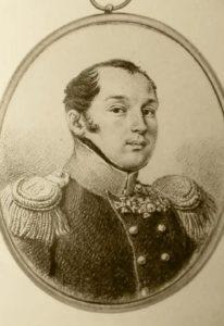 Портрет Пестеля П.И.