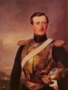 Ф.Крюгер. П.А.Шувалов в форме поручика лейб-гвардии Конного полка. 1850-1851. Гос. Эрмитаж