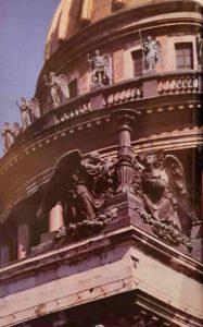 Ангелы со светильником. Скульптура И.Витали. 1850-1855