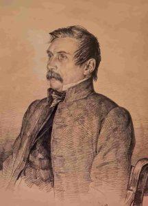 К.Мазер. Портрет И.Пущина. 1850