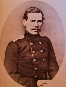 Л.Толстой. Фото 1856 г. Петербург