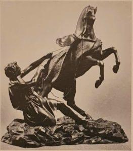 П.Клодт. Конь с водничим. Вариант второй группы. 1840-ые