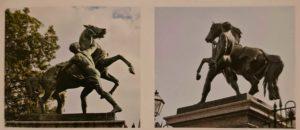 П.К.Клодт. Первая и вторая группы, подаренные неаполитанскому королю. Королевский дворец. Неаполь