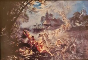 Крамской. Русалки. 1879