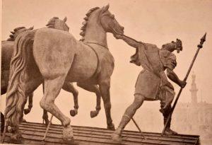 С.С.Пименов, В.И.Демут-Малиновский. Колесница Победы. 1828. Фрагмент