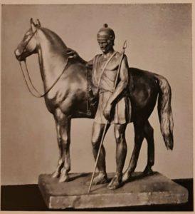 Клодт. Римлянин с конем