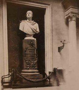 Н.С.Пименов. Бюст Николая I в главном зале Санкт-Петербургской биржи. 1859