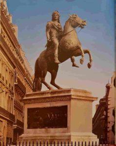Ф.Ж.Бозио. Людовик XIV. 1816-1822. Бронза. Площадь Побед. Париж