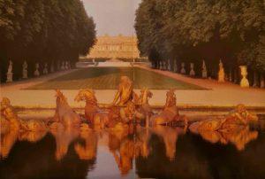 Зеленый ковер Королевской аллеи. Газон. Версаль