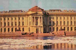 Здание Академии художеств со стороны Невы