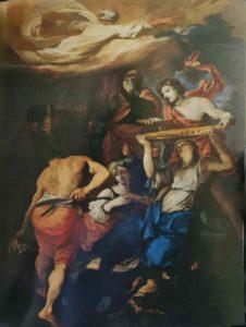 Пюже. Жертвоприношение Ноя. 1654 (?). Музей изящных искусств. Марсель. Франция. Ветхозаветная тематика
