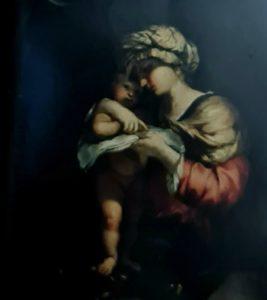 Пюже. Богоматерь, учащая ребенка Иисуса читать. 1656. Музей изящных искусств. Марсель. Франция