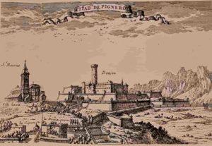 Крепость Пинероль. Это была тюрьма для государственных преступников, много тайн гуляет вокруг этой тюрьмы