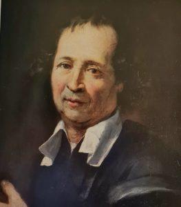 Пюже. Автопортрет. Примерно 1668. Музей Гране. Экс-ан-Прованс (город на Лазурном берегу). Франция