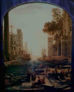 Клод Лоррен. Отплытие царицы Савской. 1648. Тоже ведута, то есть городская фантазия