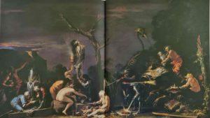 Сальвадор Роза. Сцена колдовства. Национальный музей. Лондон