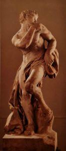Пюже. Фавн. 1692-1693. Мрамор. 157х53-45 см. Музей изящных искусств. Марсель