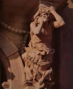 Пюже. Атлант. Портал ратуши в Тулоне. 1656