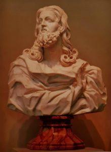 Бернини. Спаситель Мира. 1679-1680. Мрамор. Музей Крайслера. Норфолк. Вирджиния