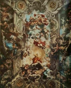 Пьетро да Кортона. Триумф Божественного Провидения. 1633-1639. Палаццо Барберини. Рим