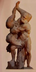 Винченцо дей Росси. Геракл и Диомед. Палаццо Веккио. Флоренция. Следите за руками и не только