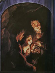 Рубенс. Старуха с жаровней. 1617-1618