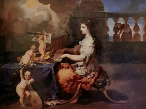 Пюже. Св. Цецилия музыкантша. 1651. Музей изящных искусств. Марсель. Франция. Св. Цецилия – покровительница церковной музыки