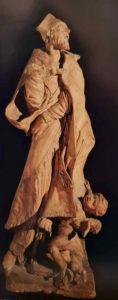 Пюже. Алессандро Саули. Терракотовый эскиз для статуи в церкви Санта Мария Ассунта в Генуе. 1660-ые. Высота 66 см. Частная коллекция. Мюнхен