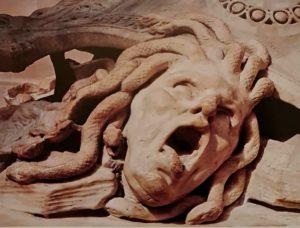 Пюже. Персей и Андромеда. Фрагмент. Голова Горгоны Медузы