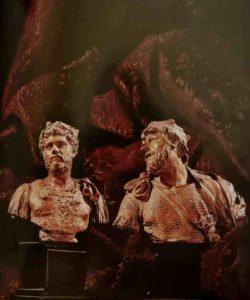 Пюже. Терракотовые эскизы бюстов Марка Аврелия и царя (возможно, Давида). Музей Гране в городе Экс-ан-Прованс, Франция
