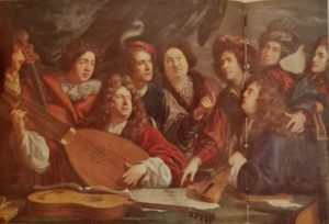 Франсуа Пюже (сын скульптора). Певцы и музыканты. Лувр. Париж