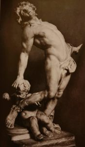 Веирье. Умирающий Ахилл. 1683. Мрамор. Музей Виктории и Альберта. Лондон