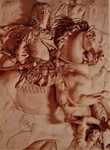 Куазевокс. Людовик XIV в виде Марса победителя. 1683. Зал Войны. Версаль