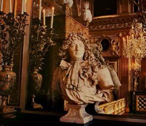 Куазевокс. Бюст Людовика XIV в комнате Короля. Версаль