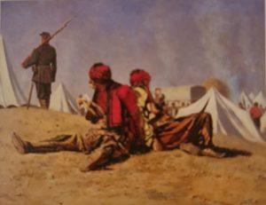 В.Верещагин. Два ястреба. Башибузуки. 1878-1879